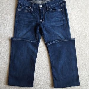 7 For All Mankind Slightly Distressed Bootcut Jean